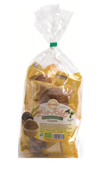 Packaging Biorikas de espelta