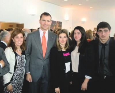 Biodarma con los Príncipes de Asturias