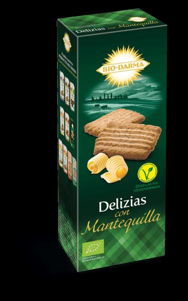 Packaging delizia con mantequilla