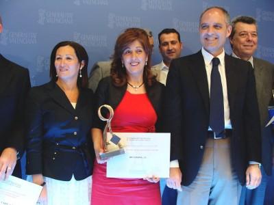 Recogida premio Consellería